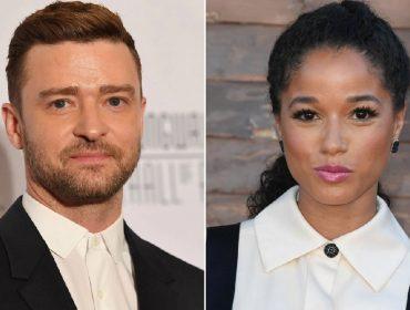 Justin Timberlake e Alisha Wainwright são vistos justos novamente, mas dessa vez no trabalho