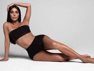 Depois de conquistar as mulheres com marca de roupas modeladoras, Kim Kardashian mira neles