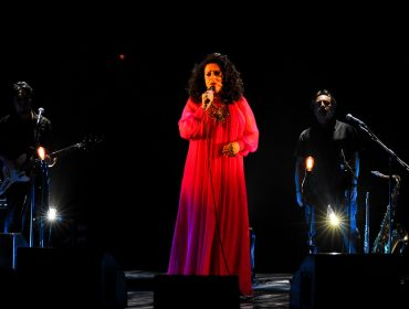 Gal Costa fez show beneficente em prol da ONG Acredite, de Ana Feffer, no Teatro Bradesco