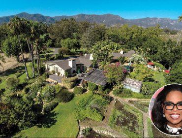 Em nome da privacidade, Oprah paga quase R$ 30 milhões pela casa do vizinho, o ator Jeff Bridges
