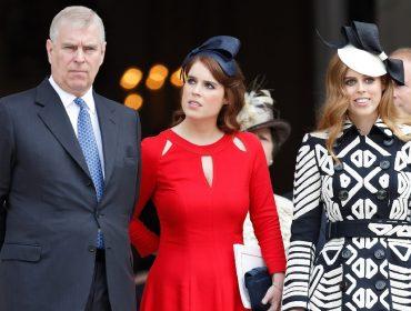 Sem pensão real, príncipe Andrew corre o risco de deixar as filhas em dificuldade financeira