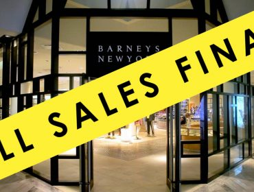 "Goodbuys, Then Goodbye! Barneys inicia o seu ""torra torra"" com descontos baixos e ar de adeus"