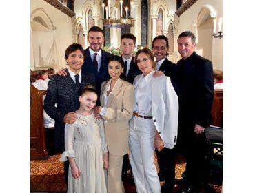 Festa de batizado dos filhos mais novos de Victoria e David Beckham teve climão do começo ao fim
