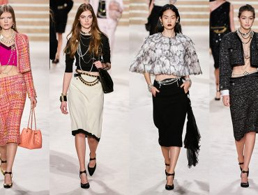 A Chanel desfila em cenário de Sofia Coppola e aposta na volta da cintura baixa