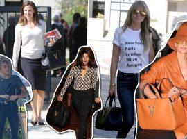Bolsa de R$ 10 mil está fazendo a cabeça de famosas como Miley Cyrus e Heidi Klum. Vem ver!