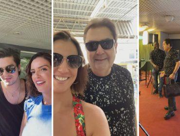 Luciana Cardoso ataca de repórter e mostra os bastidores do programa Melhores do Ano do Faustão