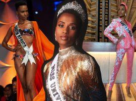 """Glamurama entrega quem é Zozibini Tunzi, a Miss Universo 2019: """"Defendo a educação dos jovens sul-africanos, a igualdade e a representação"""""""