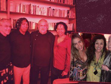 Vem ver Fernanda Montenegro soltando a voz na casa de Caetano Veloso em agito lotado de famosos. Dá o play!