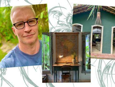 Depois de ano difícil, Anderson Cooper, estrela da CNN americana, curte férias em Trancoso para renovar as energias