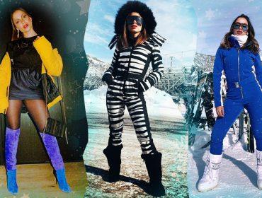 Anitta transforma temporada em Aspen em desfile de moda, com looks que somam mais de 55 mil reais!