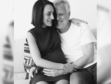 """Nasce a segunda filha de Maria Prata com Pedro Bial: """"Dora chegou para aumentar a nossa família grande e amada"""""""