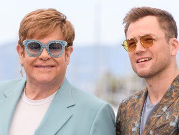 Elton John deu a Taron Egerton, que o interpretou na telona, um nome de drag queen