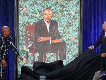 Michelle Obama não aprovou o badalado retrato do marido divulgado no ano passado, pelo menos a princípio…