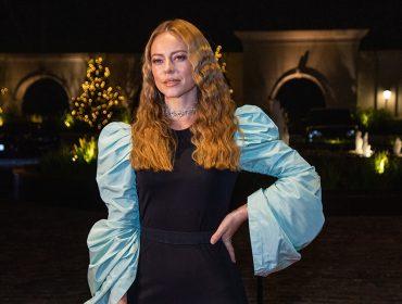 Paolla Oliveira brilha na festa de Natalia Beauty em São Paulo