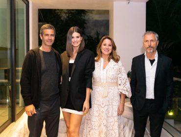 Adriana e Romeu Trussardi Neto recebem convidados para lançamento de coleção em Miami