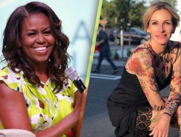 Educação e empoderamento de jovens meninas une Michelle Obama e Julia Roberts. Entenda!