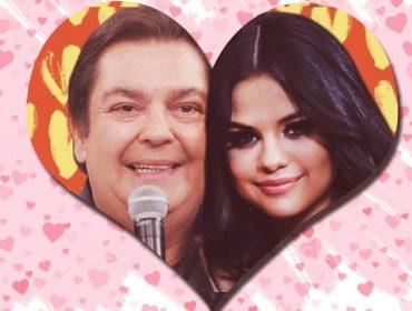Faustão na capa do novo álbum de Selena Gomez… Globo surpreende ao entrar na brincadeira criada na internet