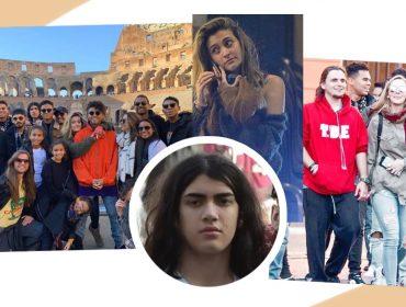Em cliques raros, filhos de Michael Jackson são flagrados curtindo as maravilhas de Roma