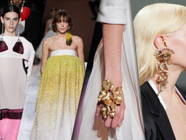Maxi joias roubam a cena nas passarelas da temporada Primavera 2020 de alta-costura em Paris. Confira!