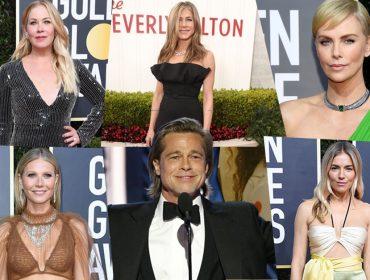 Cinco 'ex' de Brad Pitt estavam na plateia do Golden Globe e aplaudiram sua premiação… Saiba tudo!