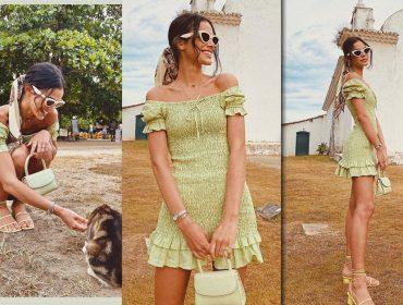 Bruna Marquezine dá show de estilo nesse verão! Vem ver as trends desfiladas pela atriz em temporada baiana