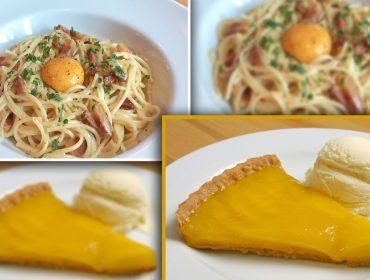 Spaghetti Carbonara é a novidade da temporada do Spot. E tem mais delícias no cardápio