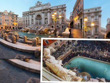 Turistas vão poder apreciar o visual da Fontana di Trevi por um novo ângulo. Qual?