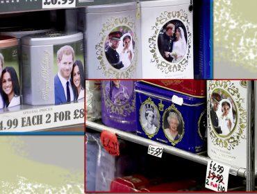 Afastamento de Meghan e Harry da família real britânica afeta mercado de souvenirs e gera queima total de estoque