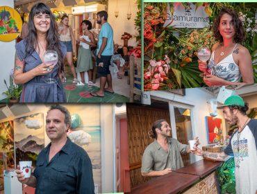 Gin Larios e whisky Jim Beam deram um ar 'fresh' à Casa Glamurama em Trancoso