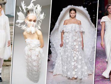 Pretende casar este ano? Então confira as últimas tendências diretamente dos desfiles de alta-costura de Paris