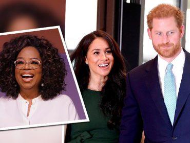 """Oprah Winfrey revela apoio ao Príncipe Harry e Meghan Markle: """"Eles precisam da minha ajuda para descobrir o que é melhor"""""""