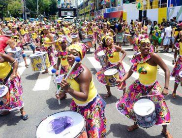 Banda afro Didá faz ensaio de pré-Carnaval no Pelourinho nessa sexta-feira. Se joga!