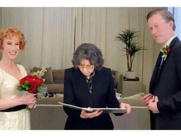 """Lily Tomlin, a Frankie de """"Grace and Frankie"""", oficializa casamento de comediante americana"""