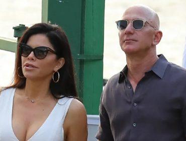 Jeff Bezos preparou duas festas de aniversário para celebrar os 50 anos da namorada Lauren Sanchez