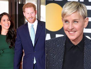 Pessoas próximas de Meghan e Harry desmentem suposta entrevista que o casal daria a Ellen DeGeneres