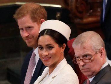 """""""Se livrar"""" do príncipe Andrew foi um dos motivos que levaram Meghan e Harry a optar pelo #Megxit"""