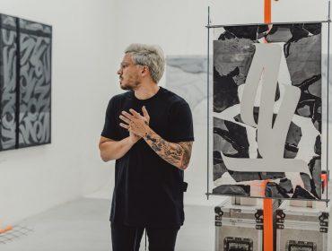 Inauguração da exposição 'Composições' na Garden Art Gallery, em São Paulo