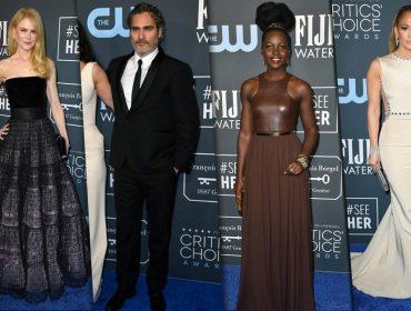 Diferente do Globo de Ouro, celebs apostam em looks mais minimalistas no Critic's Choice Awards
