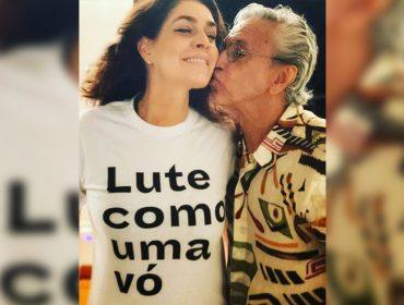 """Caetano Veloso e Paula Lavigne serão avós e comemoram: """"Família Lavigne-Veloso vai crescer"""""""