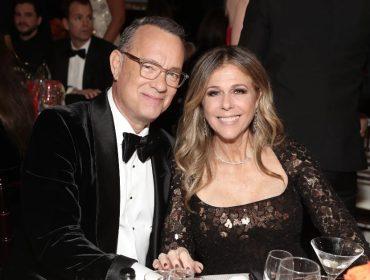 """Mulher de Tom Hanks contrata novo """"beauty team"""" depois de passar por sufoco no Globo de Ouro"""