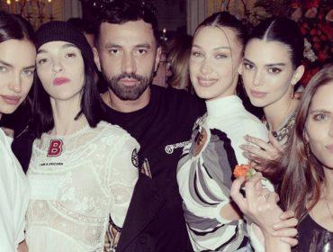 Riccardo Tisci foi o anfitrião de festança estrelada que chacoalhou Londres durante semana de moda
