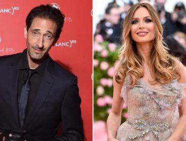"""Ex-mulher de Harvey Weinstein está namorando Adrien Brody, o vencedor do Oscar por """"O Pianista"""""""