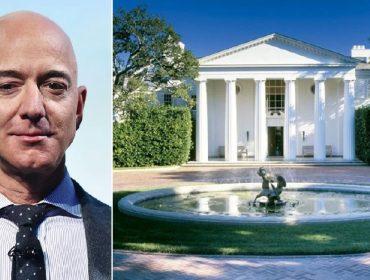 Jeff Bezos pagou mais de R$ 700 milhões por casa em Los Angeles que parece a Casa Branca