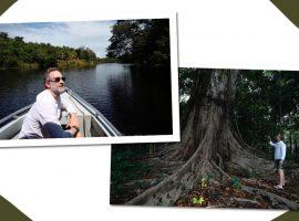 Bruno Campos Garfinkel conheceu a grandeza e as belezas da Amazônia. Vem ver!