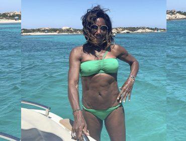 """Gloria Maria fala que sente saudades da praia e comemora conclusão da primeira fase de seu tratamento: """"Quase zerada!"""""""