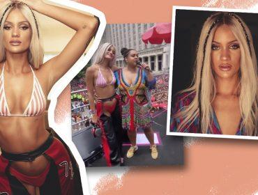 Christina Aguilera é você? Nora de Preta Gil aposta na beleza da cantora americana para bloco de Carnaval