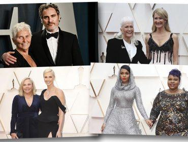 Oscar é coisa de família: Confira os atores levaram as mães para a maior premiação do cinema nesse domingo