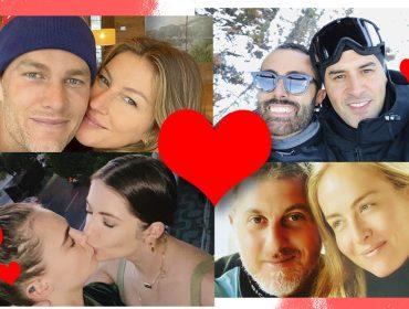 Celebs do mundo todo se declararam publicamente nas redes sociais nesse Valentine's Day. Ah, o amor!