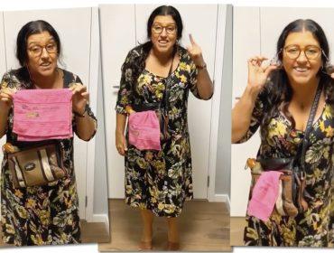 Dona Lurdes ensina como se fantasiar de…Dona Lurdes. Oi?! Vem que Glamurama explica!