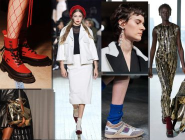 Os melhores acessórios apresentados nas passarelas da semana de moda de Nova York, aqui. Vem!